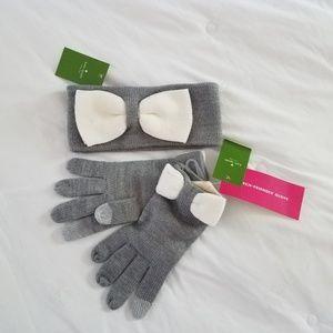 Kate Spade Winter Headband and Gloves